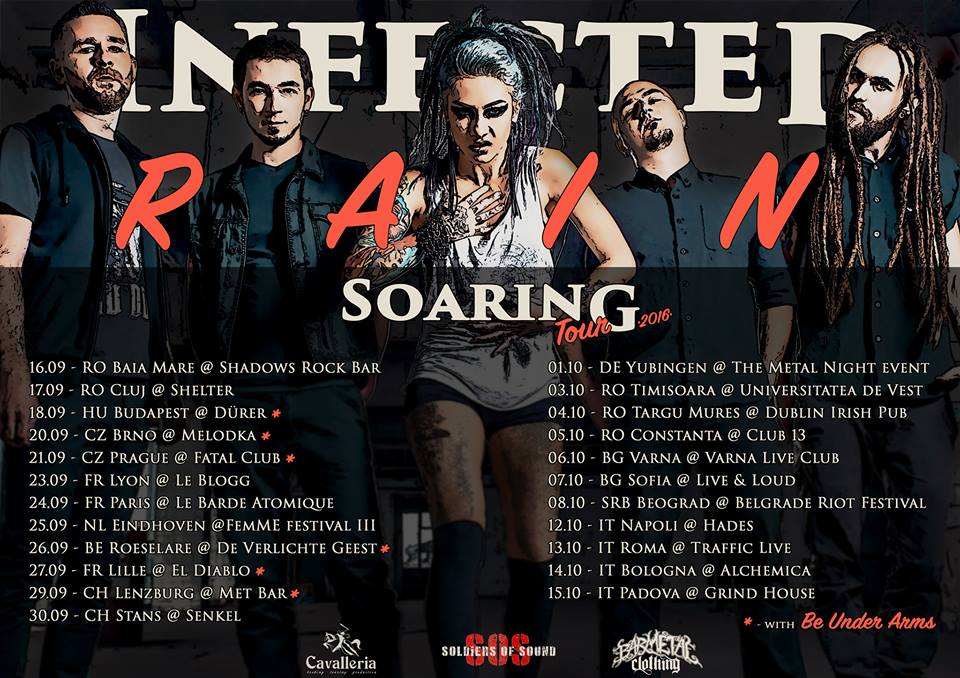 Infected Rain tour