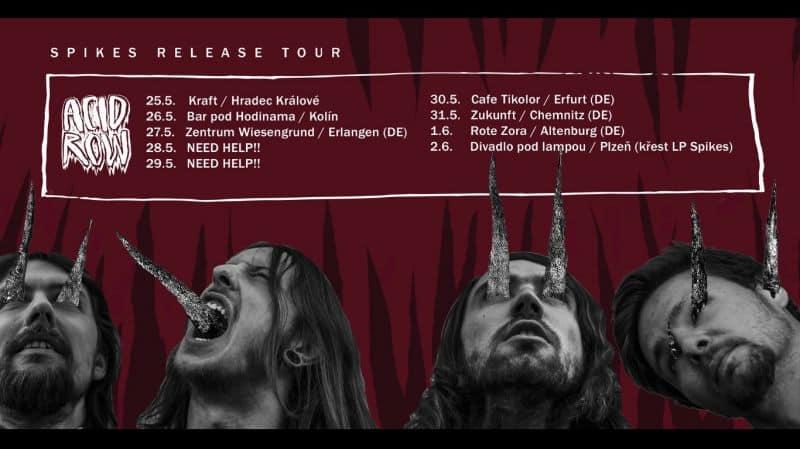 Acid Row tour