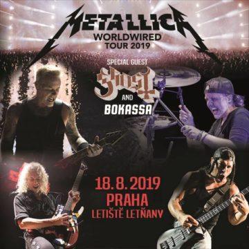 Ghost a Mettalica V Praze